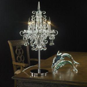 欧式水晶台灯