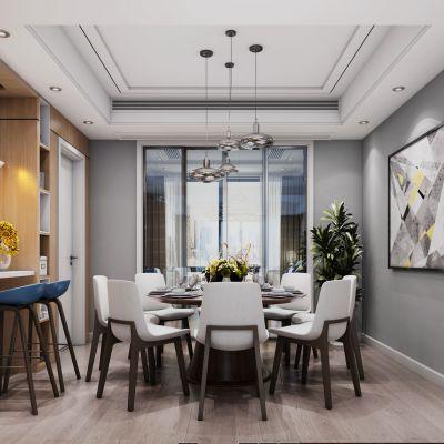 台式客餐厅3D模型