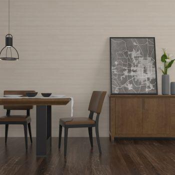 现代简约边柜餐桌椅组合