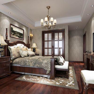 美式主卧室.