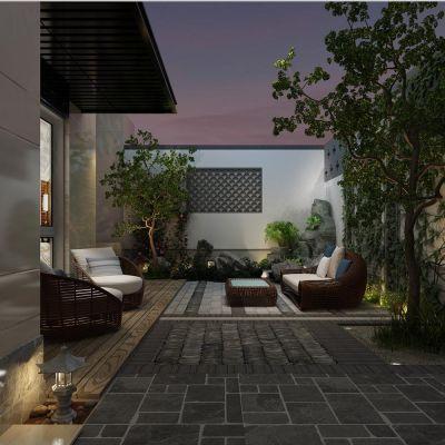 花园、天井、庭院
