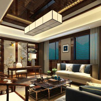 中式书房会客厅