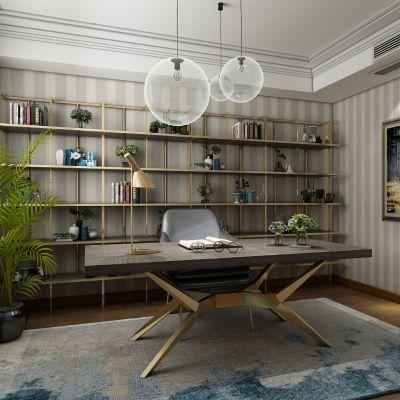 现代风格书房3D模型