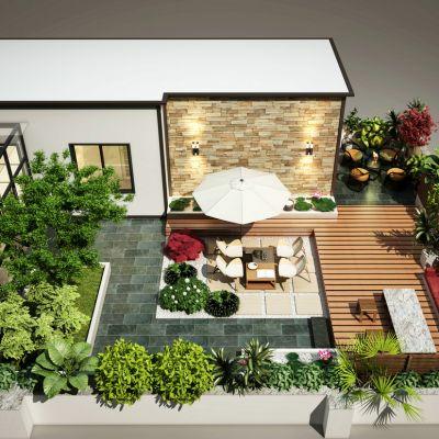 阳台现代风格