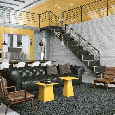 北欧复式楼客厅