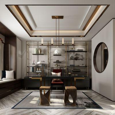 现代风格茶室