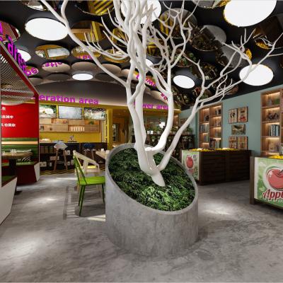 O26现代咖啡厅3D模型