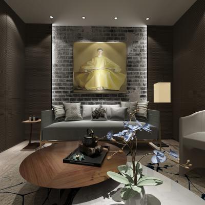 现代会客室3D模型