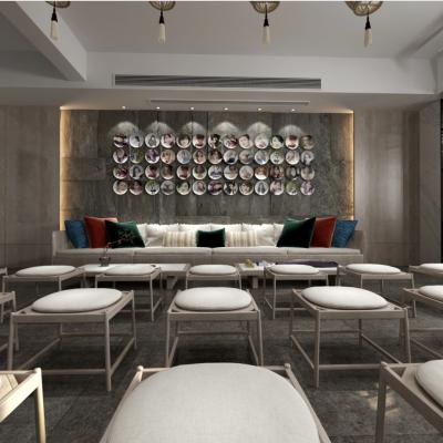 现代餐饮空间3D模型