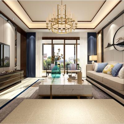 O12新中式客厅3D模型
