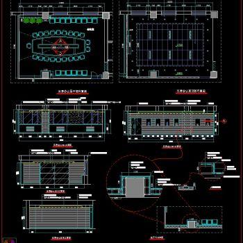 综合节点图CAD施工图