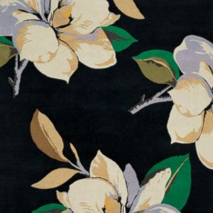 植物图案方形地毯