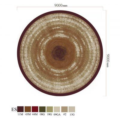圆形地毯贴图