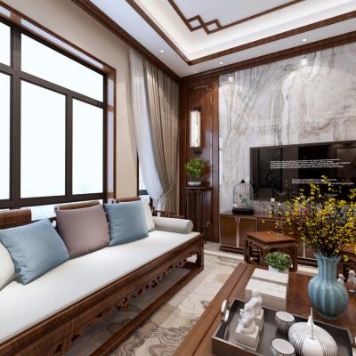 G35中式别墅客厅