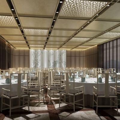 宴会厅中式风格