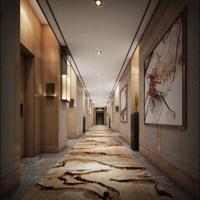 走廊电梯间现代风格