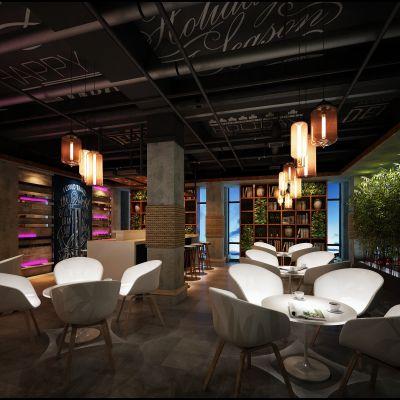 咖啡馆、面包房工业风格