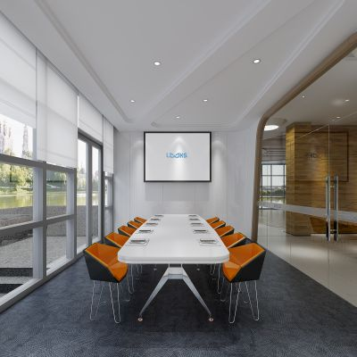 现代风格会议室