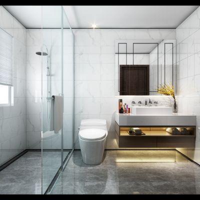 现代风格酒店卫生间