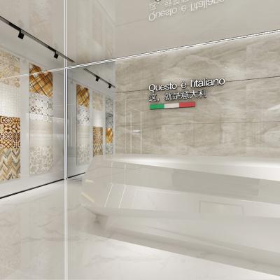 现代大厅前台3D模型