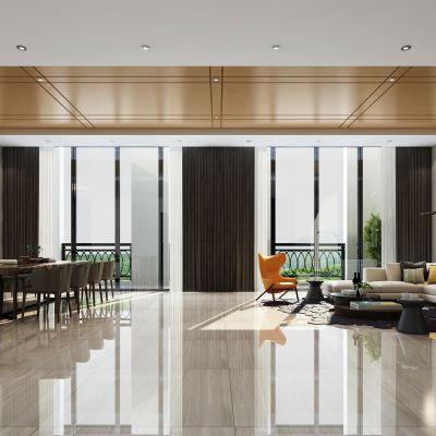 现代风格会客室