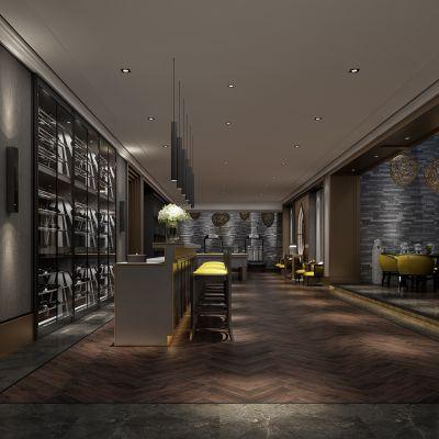 新中式风格会客室