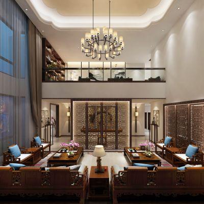 中式风格会客室