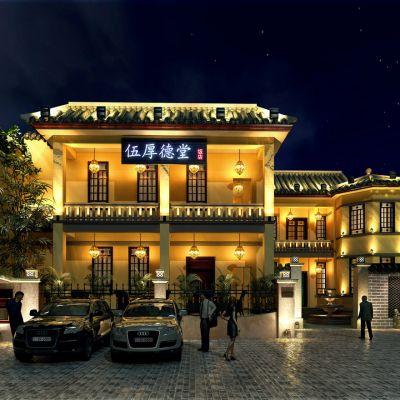 中式建筑外景