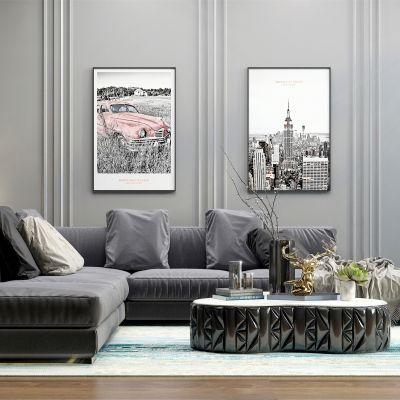 现代L形沙发组合