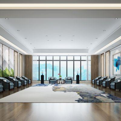 新中式风格会议室