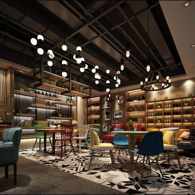现代风格咖啡厅