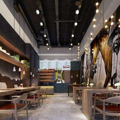 现代风格咖啡馆
