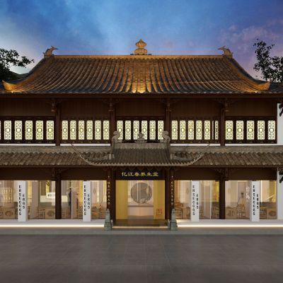 中式风格建筑外景