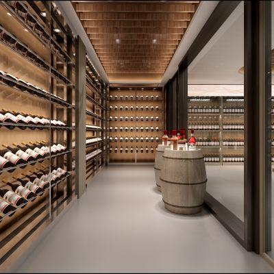 现代风格酒窖