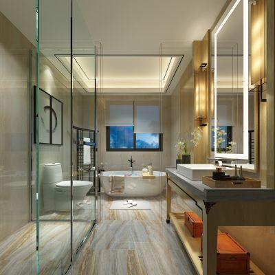 新中式风格卫浴