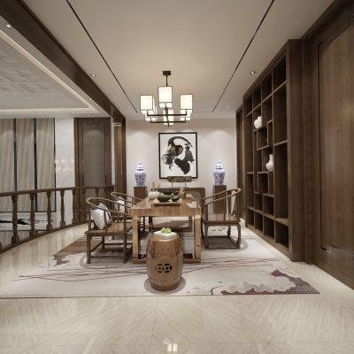 中式风格茶室