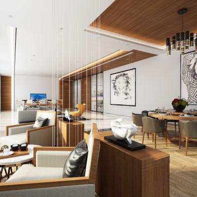 现代风格餐饮空间