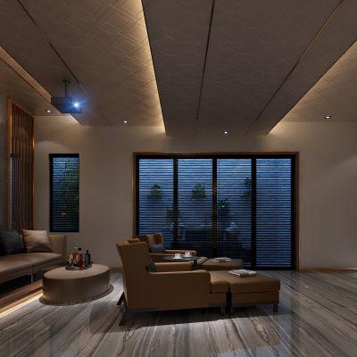 新中式风格影音室