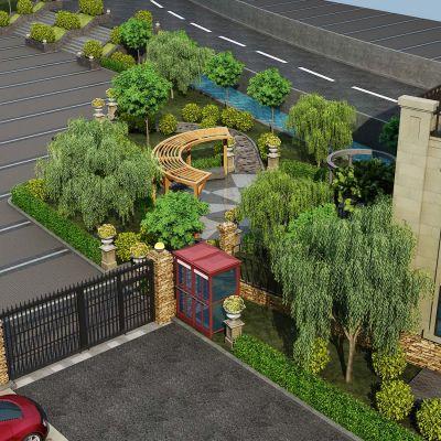 景观花园3D模型
