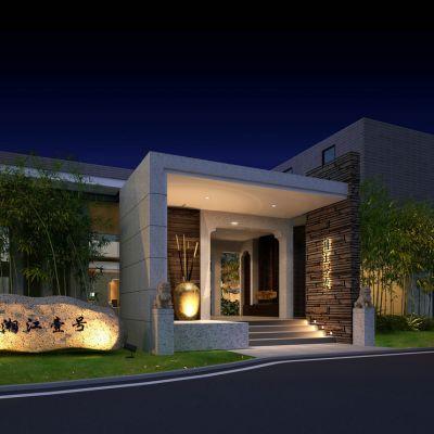 中式风格建筑外观