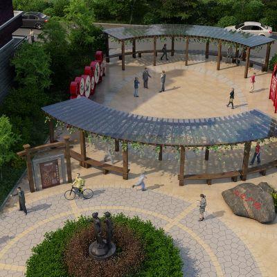 小区庭院改造