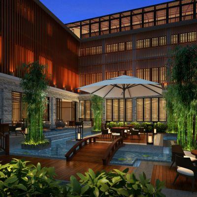 新中式风格庭院景观