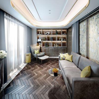 新中式风格书房