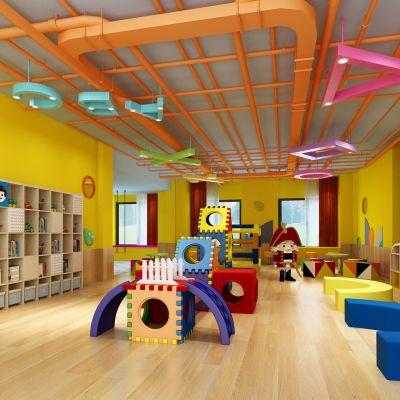 幼儿园、活动室
