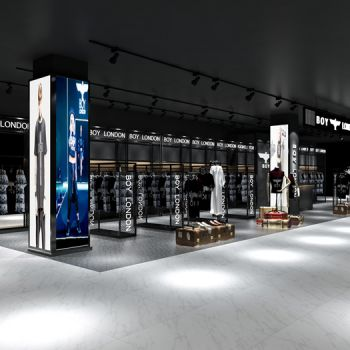 专卖店3D模型