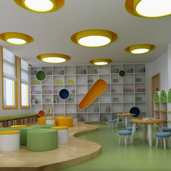 幼儿园图书室