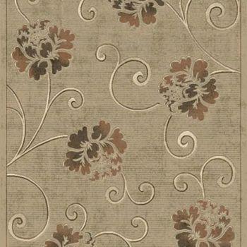 植物花鸟地毯