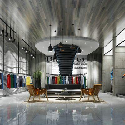 现代风格服装专卖店