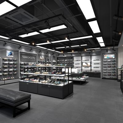 现代鞋子专卖店