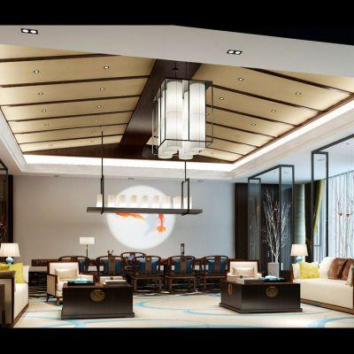 中式风格会客厅